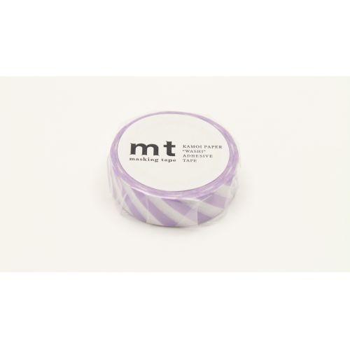 Japonská papírová páska Lilac Stripe