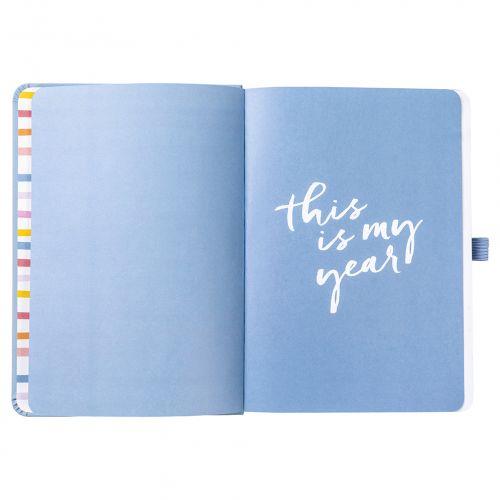Diář Perfect planner Blue Faux 2020/2021