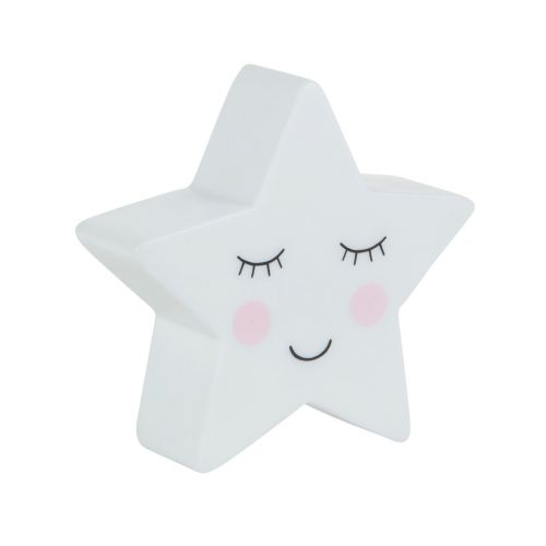 Dětská noční LED lampička Star
