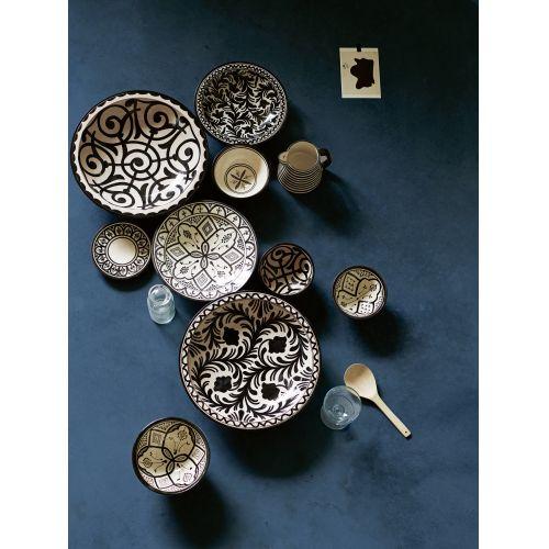 Keramická miska Black Morocco 25cm
