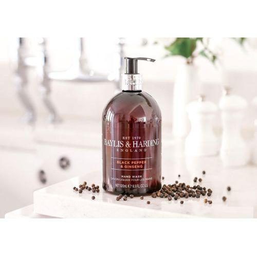 Tekuté mýdlo Black Pepper & Ginseng 500ml