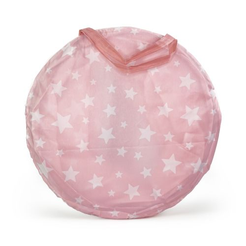 Dětský stan Pink Star Castle 130 cm
