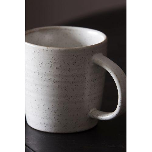 Porcelánový hrneček Pion Grey/White
