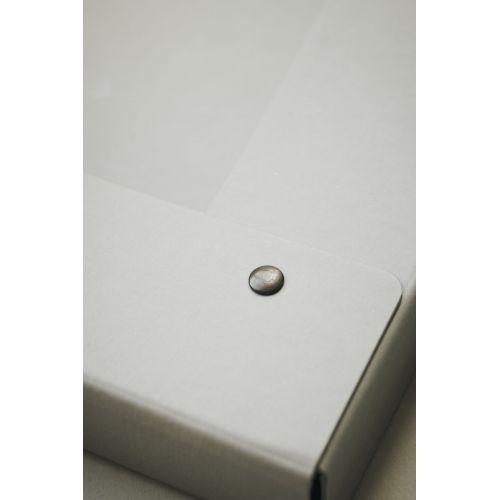Papírová složka na dokumenty Grey