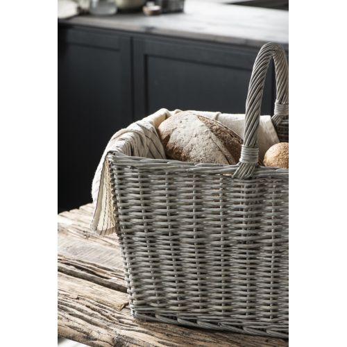 Bavlněná utěrka Small Lavender Stripes 50 x 70 cm