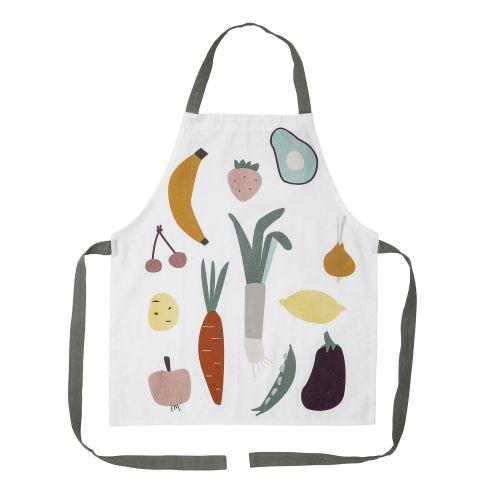 Dětská bavlněná zástěra Fruits&Veggies