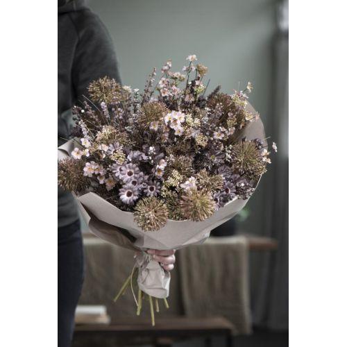 Dekorativní umělé květy Malva Tones