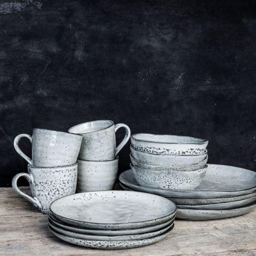 Keramický dezertní talíř Rustic Grey 20cm