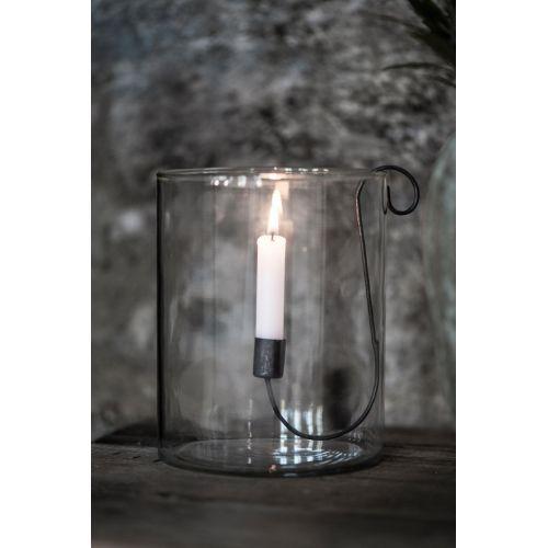 Kovový držák na svíčku Black