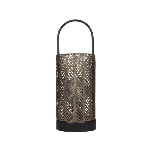 Elektrická lucerna Antique Brass 33cm