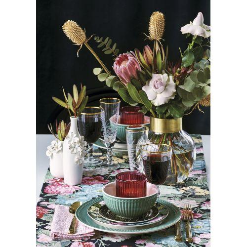 Keramická váza Anemone White & Gold Small