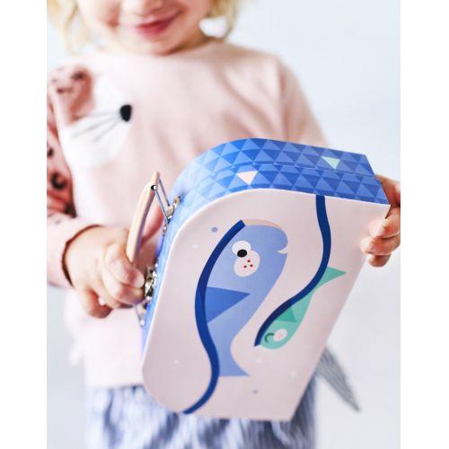 Dětský kufřík Blue Mix - 3 druhy