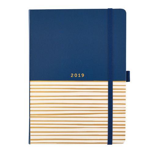 Diář Stripes Contemporary 2019