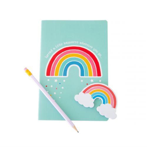 Zápisník Chasing Rainbows A5