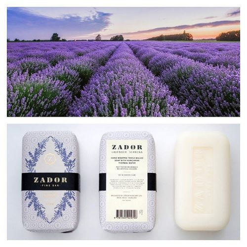 Luxusní mýdlo ZADOR - Levandule a verbena