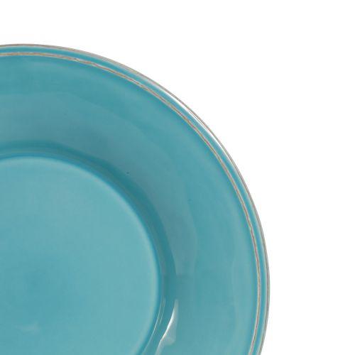 Polévkový talíř Constance Turquoise