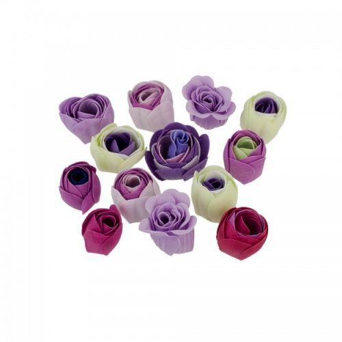 Mýdlové květy do koupele Lavender Field