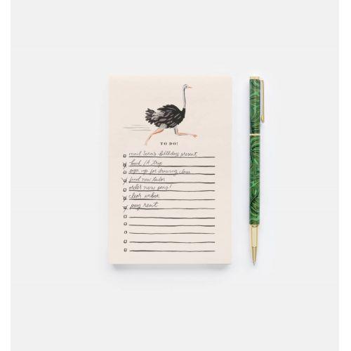 Kovové kuličkové pero Monstera