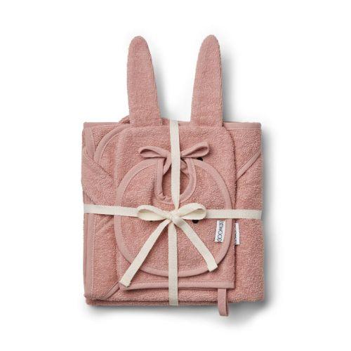 Textilní set pro miminko Rabbit rose