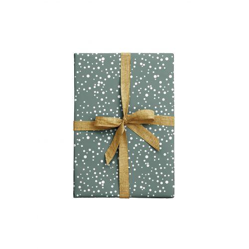 Balicí papír Dots Bluegrey - 2 listy