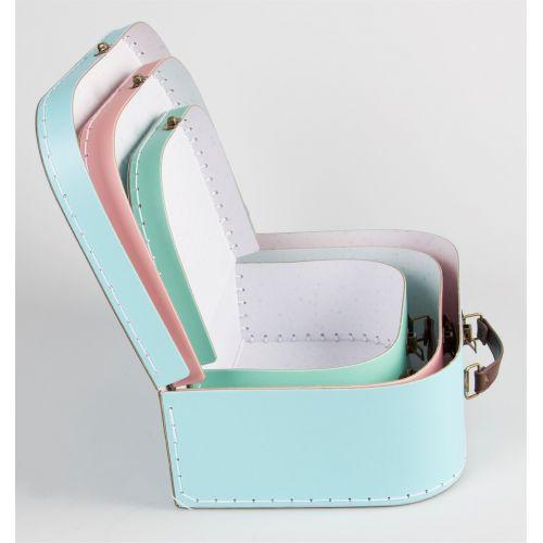 Dětský kufřík Pastel Retro