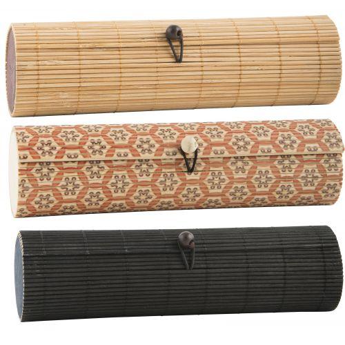 Bambusové pouzdro na tužky Mix