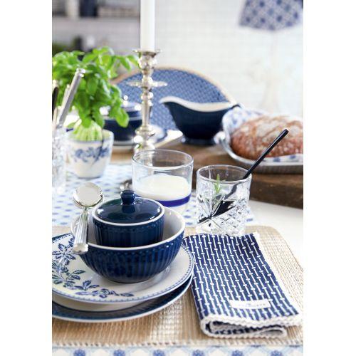 Dezertní talíř Fleur blue