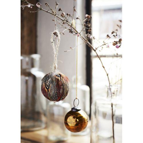 Vánoční baňky Shiny Glass - set 3 ks