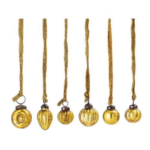 Závěsná vánoční dekorace Ornament Gold