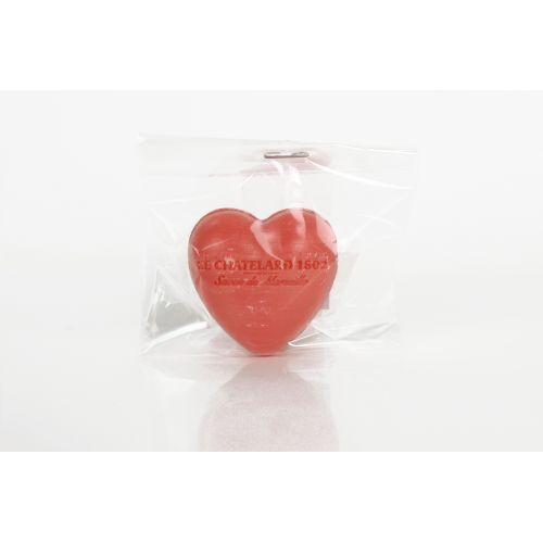 Francouzské mýdlo Heart - Jasmín a růže 25gr