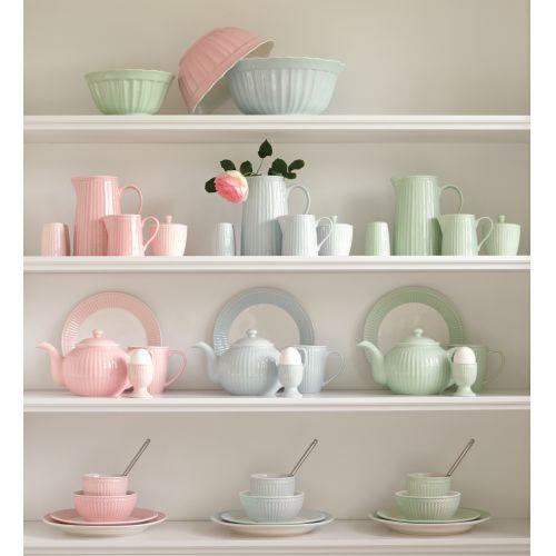 Dezertní talíř Alice pale pink
