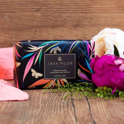Luxusní tuhé mýdlo Sara Miller Bamboo - 240 g
