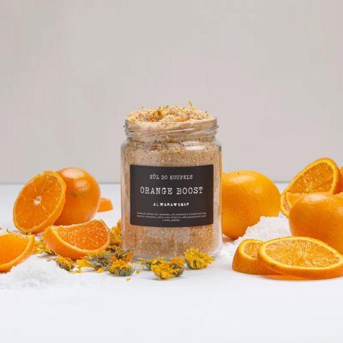 Sůl do koupele Orange Boost