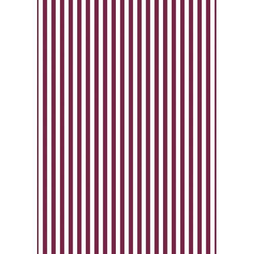 Dárkový balicí papír Red Stripes - 10 m