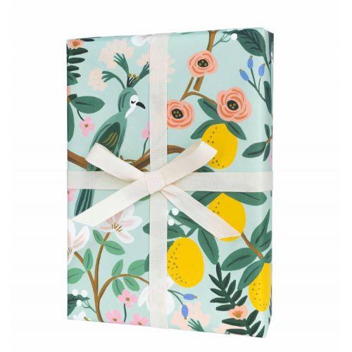 Balicí papír s květinami Shanghai Garden - 3 listy