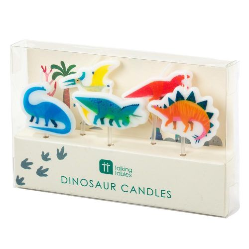 Dortové svíčky Dino Candles 5 ks