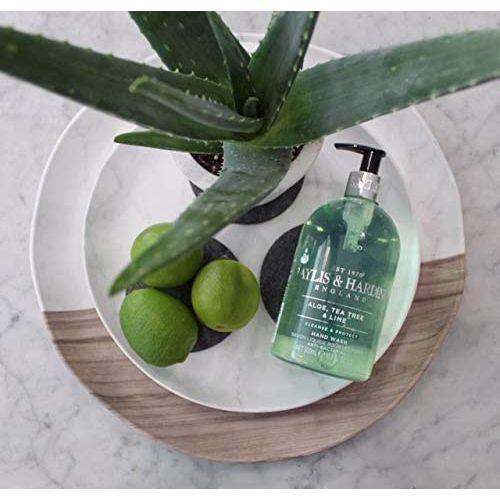 Antibakteriální tekuté mýdlo Aloe, Tea Tree a Limetka - 500 ml