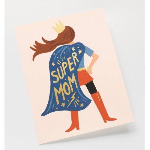 Přání s obálkou Super Mom