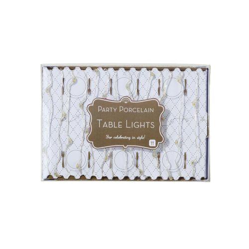 Světelný LED drátek Party Gold