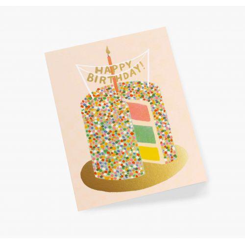 Narozeninové přání Layer Cake
