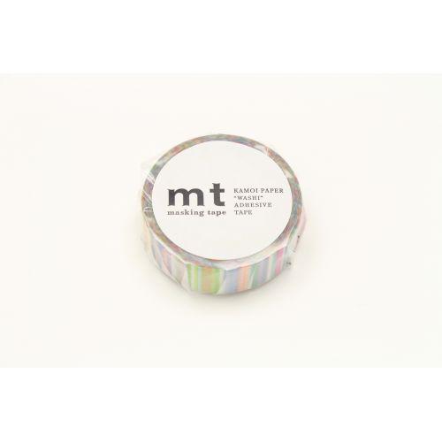 Designová samolepicí páska Multi border pastel