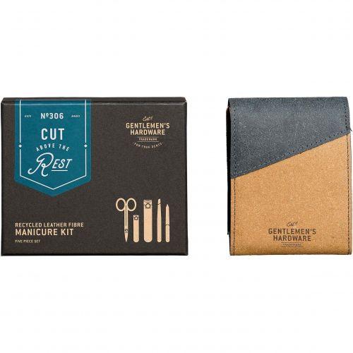 Sada na manikúru z recyklované kůže Manicure Kit
