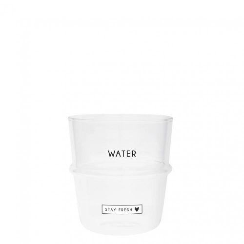 Sklenička na vodu Stay Fresh & Heart 250 ml