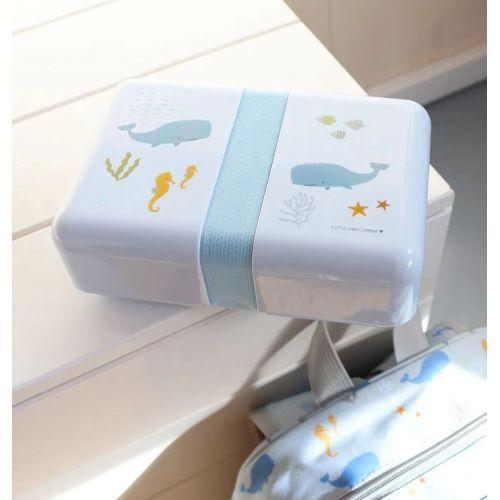 Krabička na svačinu Ocean + samolepky
