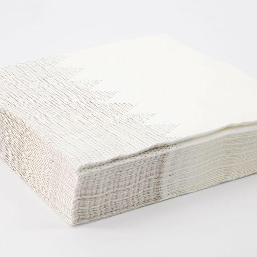 Papírové ubrousky Hill Gold 40 ks