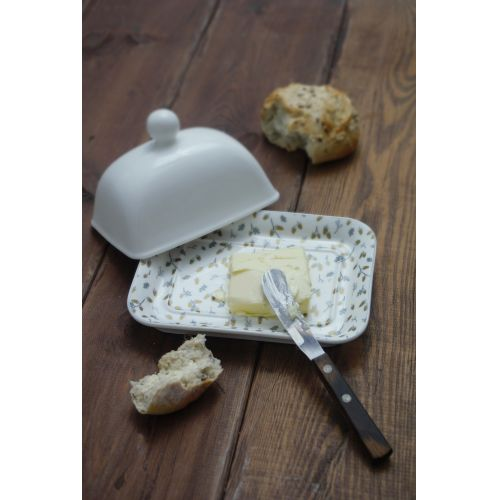 Porcelánové víko na máslenku