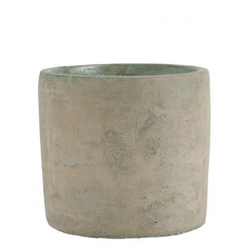 Betonový obal na květináč Concrete Brown