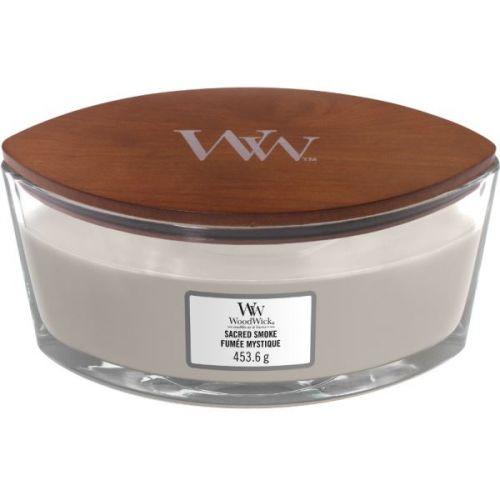Vonná svíčka WoodWick - Sacred Smoke 454g