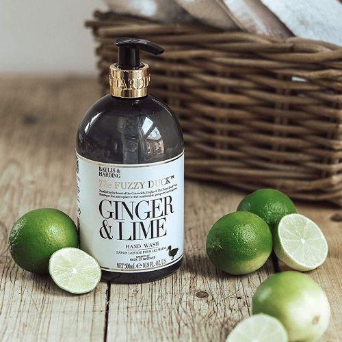 Tekuté mýdlo na ruce Ginger & Lime 500ml