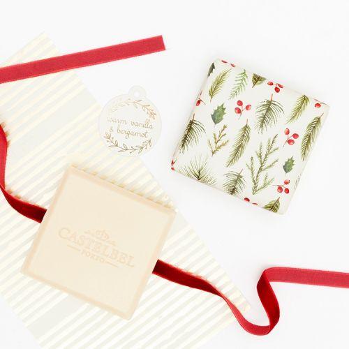 Dárková sada vánočních mýdel Vanilla & Bergamot